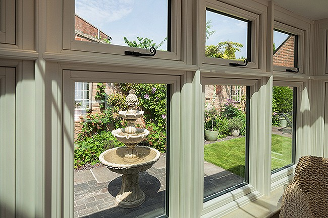 Residence 9 premium timber effect windows